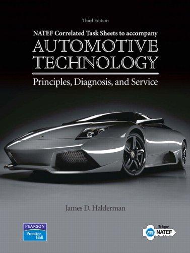 Automotive Technology Principles, Diagnosis, and Service:...