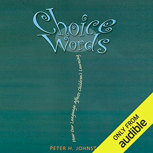 Choice Words audiobook cover art