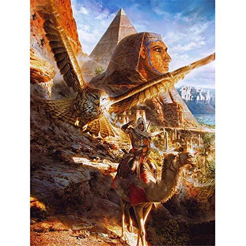 Puzles para Adultos,Puzles de 1000 Piezas Adulto,Arquitectura y animales del Antiguo Egipto Puzzles 1000 Piezas,Piezas Rompecabezas,Puzzle Adultos,1000 Rompecabezas de, desafiantes Rompecabezas para