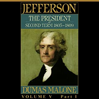 Thomas Jefferson and His Time, Volume 5 audiobook cover art