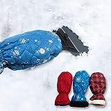 JIU SI Multifunktionale Schneeräumung Schaufel for Automobile, Autoschneebürste,...