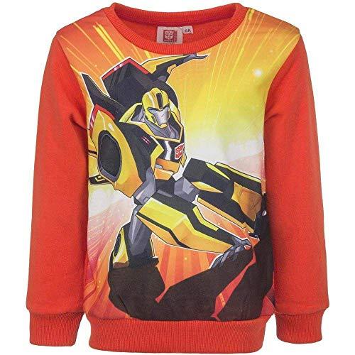 Transformers Jungen Sweatshirt 128 (8 Jahre) Orange