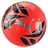 PUMA One Triangle Ball Balón de Fútbol, Adultos Unisex, Nrgy Red-Silver Black, 5