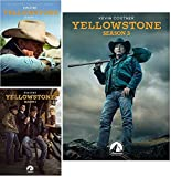 Yellowstone DVD Season 1 and 2 and 3 Complecte Collection by GRADISCA