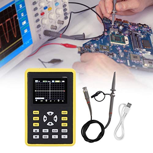 Oscilloscopio pratico ed economico, oscilloscopio digitale da 100 Mhz, segnali del telecomando a infrarossi per segnali di accensione dell auto