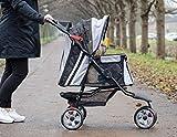 "InnoPet Hundebuggy Hundewagen schwarz Pet Stroller ""All Terrain"" klassisch Buggy für Hunde - 2"