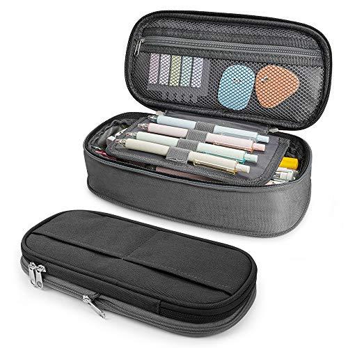 Pencil Case Big Capacity Stifthalter Beutel Box Make-up Bag Große Aufbewahrung Briefpapier Veranstalter School College Office für Jugendliche Mädchen Erwachsene Student