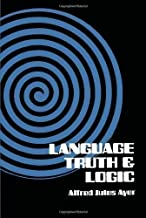 Language, Truth and Logic by A. J. Ayer 2nd (second) Edition (2002)