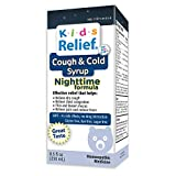 Kids Relief Cough & Cold Syrup Nightime Formula for Kids 0-12 Years (250ML)
