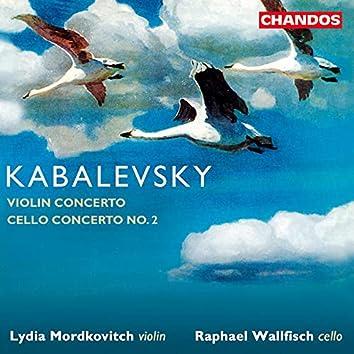 Kabalevsky: Violin Concerto & Cello Concerto