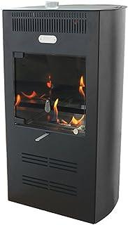 Tecno Air System Estufa bioetanol 3000W Ventilata 3Velocidad Nera Calefacción Ruby Elegance