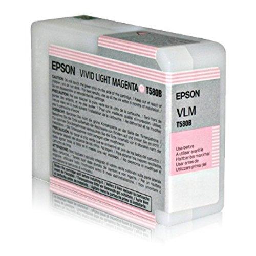 Epson C13T580B00 cartucho de tinta magenta claro para Stylus Pro 3880/3880 Designer Edition