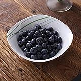 VEWEET, Tafelservice 'Aviva' aus Porzellan 24 teilig | Geschirrset beinhaltet Müslischalen, Dessertteller, Speiseteller und Suppenteller| Geschirrservice für 6 Personen - 6