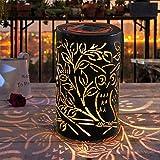 Solar Laterne für Draußen, Weeygo LED Solar Garten Hängende Laterne außen, Wasserdichte Nachtlicht Gartendeko Deko Lampe Licht für Rasen/Hof/Gehweg für Weihnachtsferien