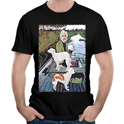 LSYTX Goodfellas Painting Men's T-Shirts Short Sleeve Tees & Tops Clothing