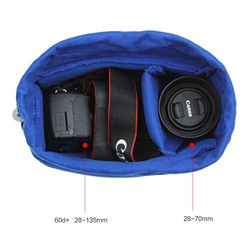 Koolertron Shockproof Camera Bag Partition