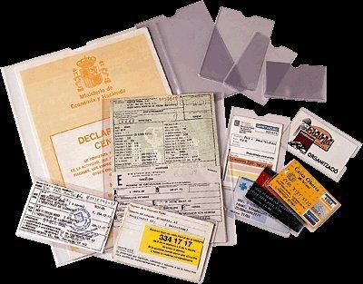 ESSELTE 46003 - Caja 100 portacarnets 75Q 78 x 114 mm