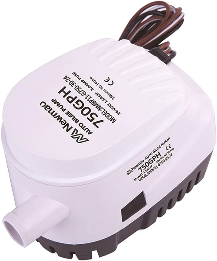 Zcargel Submersible Boat Bilge Water Pump 24V Automatic Ranking integrated New Orleans Mall 1st place 12V Boa