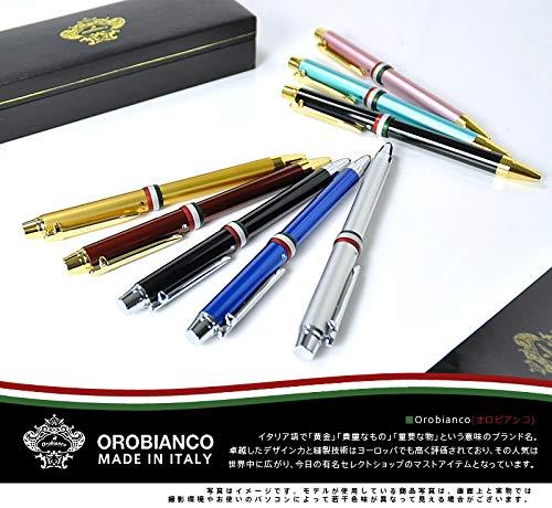 (オロビアンコ)orobiancoラ・スクリヴェリアトリプロ三色複合ボールペン2.ゴールドgt全長142mm軸径11mm