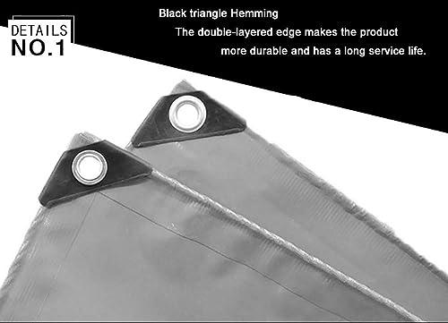 ZLL Bache extérieure imperméable-crème solaire Bache anti-UV de bache imperméable d'épaisseur de camion Orange, linoléum 600G   M2 d'isolation de tissu de hangar d'auvent de voiture,4 × 6m