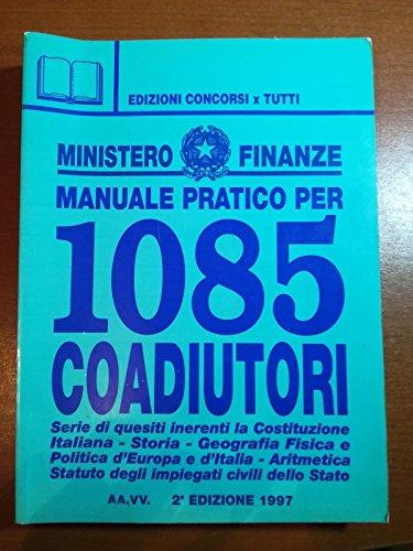Come superare l'esame per 1085 coadiutori Ministero delle finanze
