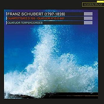 Schubert: Quartettsatz, D. 703 & Quatuor No. 15, D. 887
