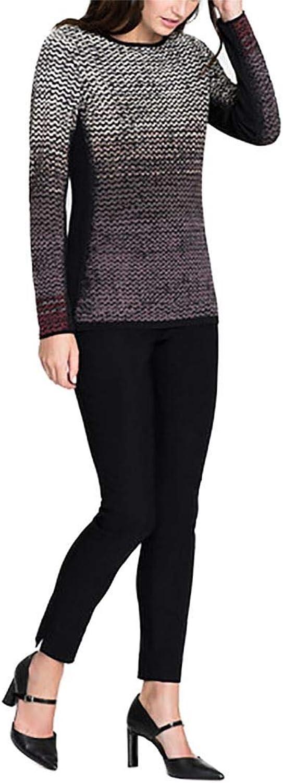 NIC & ZOE  Women's Pattern Stitch Top  Multi