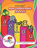 Lectura Inicial   Aprendiendo a Leer   Actividades para niños de 4 años en español (Spanish Edition)