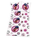 Miraculous Ladybug - Juego de cama infantil (135 x 200 cm, reversible), diseño de Ladybug