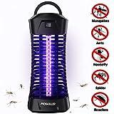seenlast Lampe Anti Moustique Électrique, 6W UV Tueur de Moustique Anti-Insectes Répulsif Attrape Bug Zapper, Efficace Portée 35m², Non Toxique pour L'intérieur