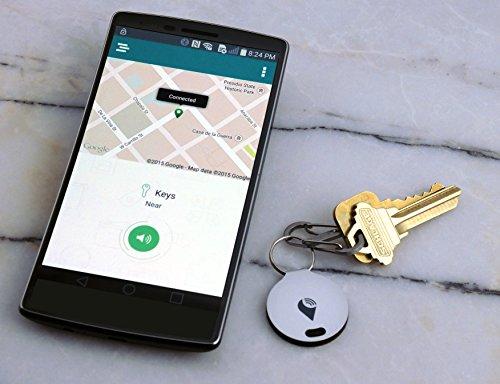 TrackR Bravo mit Bluetooth verknüpfte Aufspührer 2er Pack für Apple iPhone Android Abbildung 2