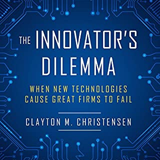 The Innovator's Dilemma cover art