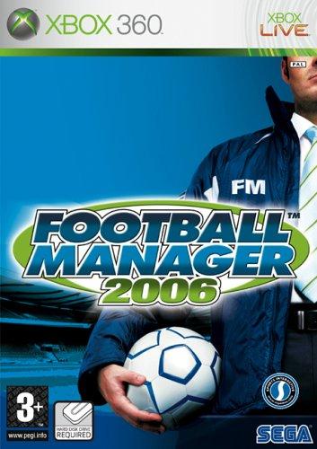 Football Manager 2006 (Xbox 360) [Importación inglesa]