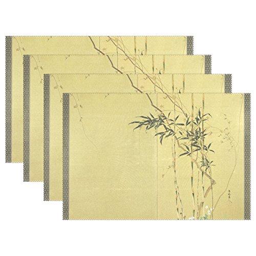 BENNIGIRY - Manteles Individuales bambú Japonés