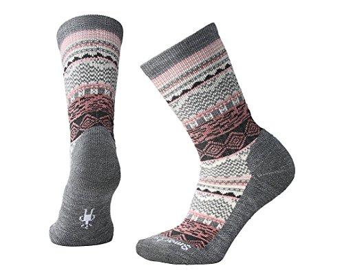 Smartwool Dazzling Wonderland Crew Socks - Women's Medium Cushioned Merino Wool Performance Socks