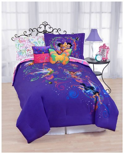 girls disney fairy friends and tinkerbell bedding