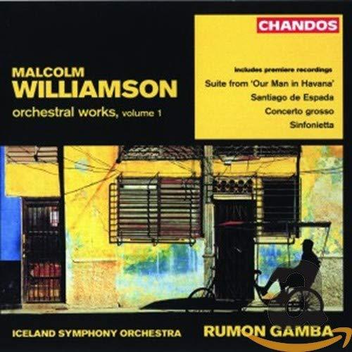 oeuvres orchestrales /vol.1 : santiago de espada - concerto grosso...