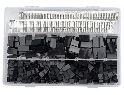 WMYCONGCONG 900 PCS Universal-Servokabel Drahtstecker Stecker Buchse Crimp Pin Kit für JR Hitec