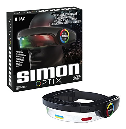 Hasbro Gaming Juegos Simon Optix, Multicolor, 27 x 27 cm (C1