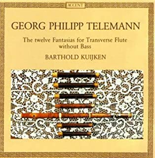 Telemann: The twelve Fantasias for Transverse Flute without Bass