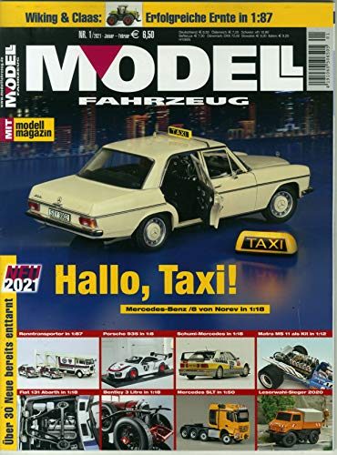 Modell Fahrzeug 1/2021