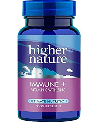 Higher Nature Immune + - Pack of 90 Tablets by Higher Nature