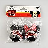ディズニーアンテナボールUSA限定版(ミッキー&ミニー)2種類のアンテナトッパーセット 【Micky and Minnie Head Logo Antenna Topper】