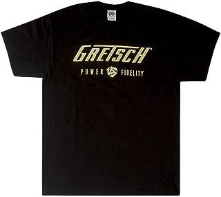 Gretsch グレッチ ロゴ Tシャツ メンズ L(ラージ) ブラック 00775-00106470