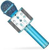 Blackherry Premium Quality Wireless Bluetooth WS-858 Microphone MIC Recording Condenser Handheld...