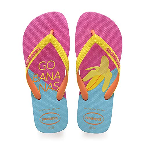 Havaianas Top Cool, Chanclas para Mujer, Multicolor (Hollywood Rose), 35/36 EU