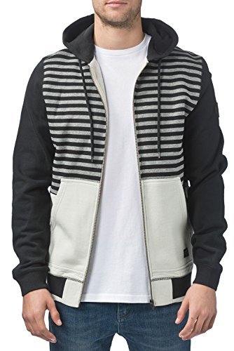 Globe Starter Pull Homme, Gris, FR : L (Taille Fabricant : L)