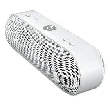 Apple Beats Pill+ Portable Rechargeable Bluetooth Wireless Speaker, White (Non-Retail Packaging)