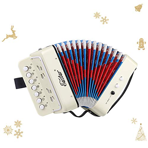 Eastar Kids Accordion Toy Accordian Mini Musical Instruments...