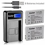Kastar Battery (X2) & LCD USB Charger for Canon NB-5L and Powershot S100 S110 SX230 HS SX210 is SD790 is SX200 is SD800 is SD850 is SD870 is SD700 is SD880 is SD950 is SD890 is SD970 is SD990 is